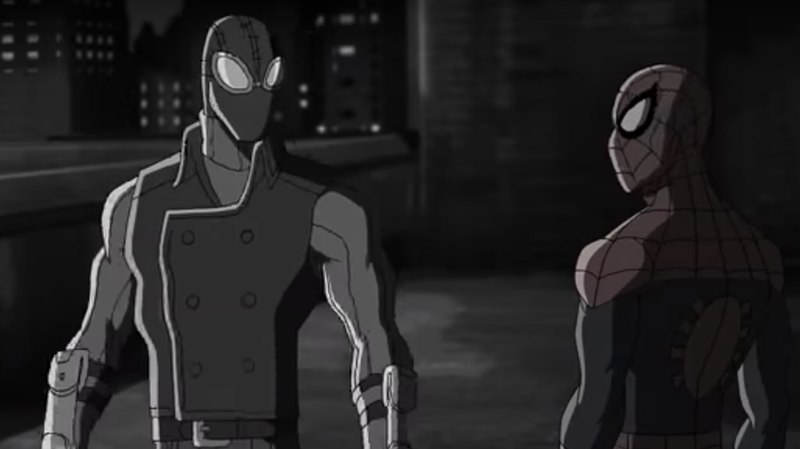 Spider-Man Noir in Ultimate Spider-Man