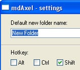 Illustration for article titled MdAxel Creates New Folders Faster