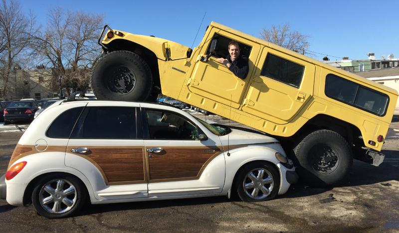 Heres The Real Story Of The Chrysler PT Cruiser I Crushed - Chrysler hummer