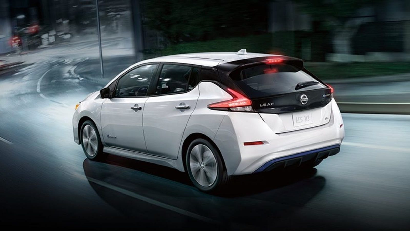 the long range nissan leaf e plus will reportedly have 200 hp. Black Bedroom Furniture Sets. Home Design Ideas