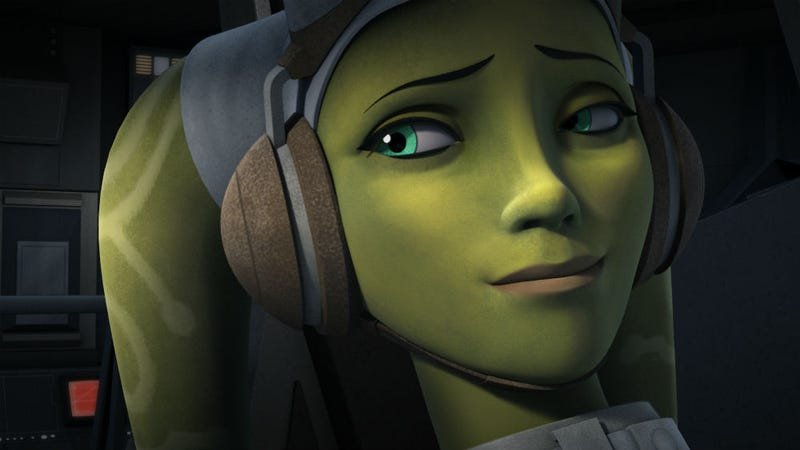 Illustration for article titled Captain Hera's Daddy Issues Are Revealed on Star Wars Rebels