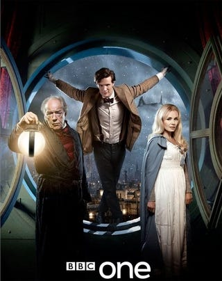 Illustration for article titled Doctor Who Christmas Carol Teaser Pic