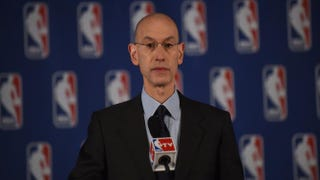 NBA Commissioner Adam SilverEMMANUEL DUNAND/AFP/Getty Images
