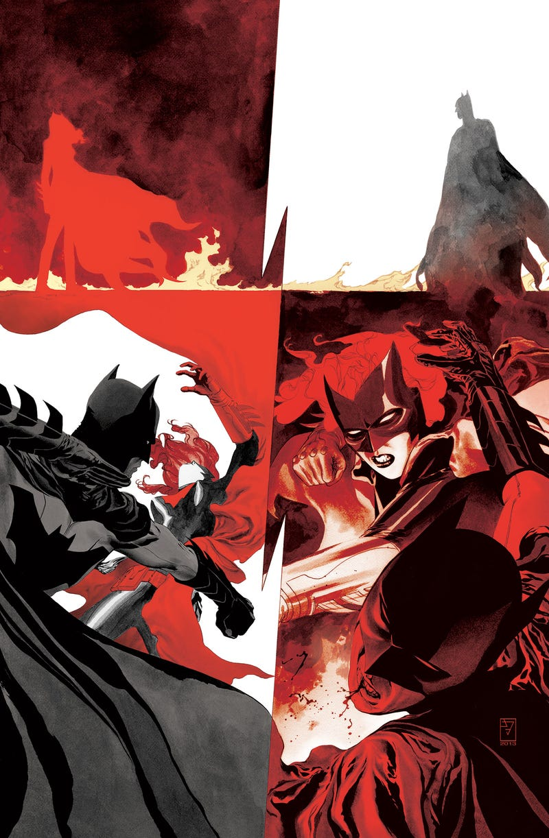 Illustration for article titled Comic Book Wednesdays: Batwoman  and the Wedding Controversy
