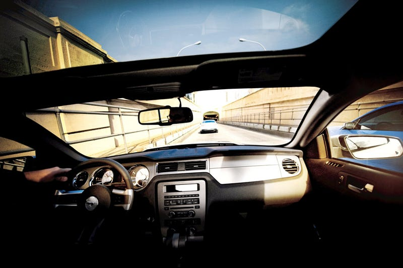 Illustration for article titled 2010 Mustang To Get Glass Roof Just Like 2009...Yawn!