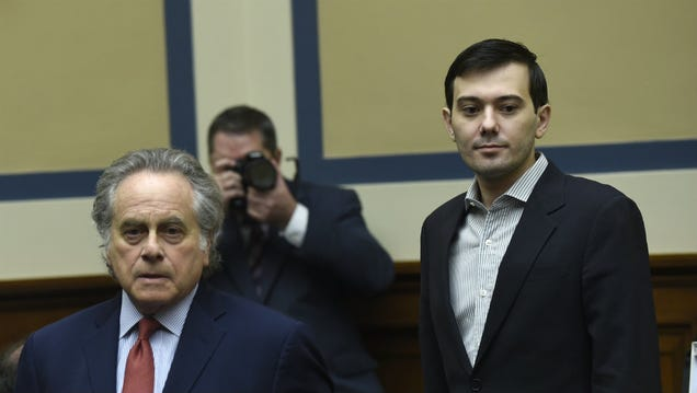 Noted Turd Martin Shkreli Appeared Before Congress, Got in Trouble For Smirking