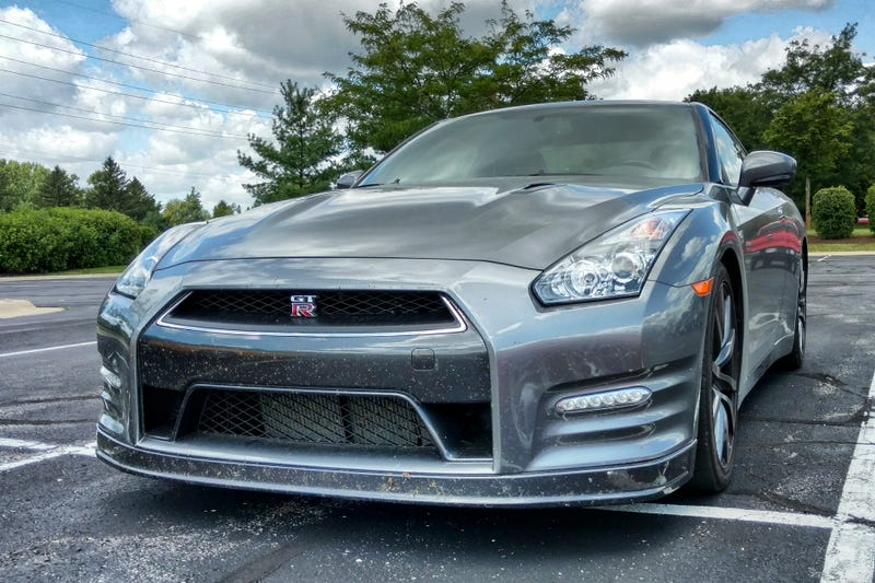Illustration for article titled Interesting Cars At Work, Nissan GT-R edition