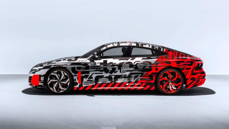 Illustration for article titled The 2020 Audi E-Tron GT: Here's More of Audi's Electric Tesla-Fighter
