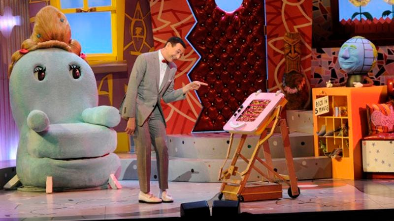 Illustration for article titled The Pee-wee Herman Show On Broadway