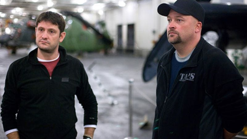 Ghost Hunters Grant Wilson and Jason Hawes (Photo: Syfy)