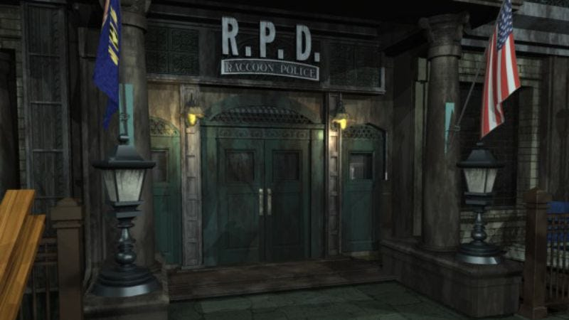 Illustration for article titled Working in Resident Evil 2's police station must've been a nightmare