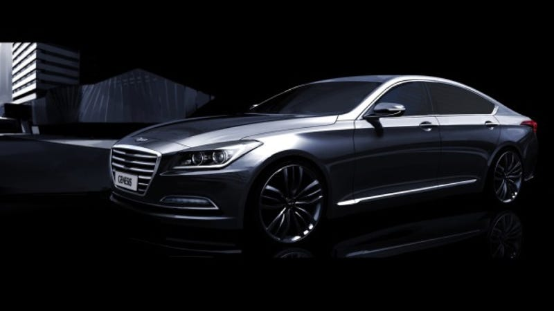 Illustration for article titled 2015 Hyundai Genesis: This Is It