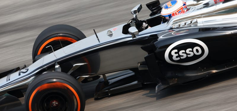 Illustration for article titled McLaren Already Wins Malaysia With Throwback 'Esso' Paint Scheme