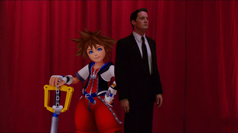Illustration for article titled Kingdom Hearts Is Weirdly Similar To Twin Peaks