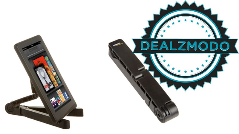 Illustration for article titled Dealzmodo: $7 Tablet Stand, 4TB USB3 $140, Panasonic Sound Bar, 5D III