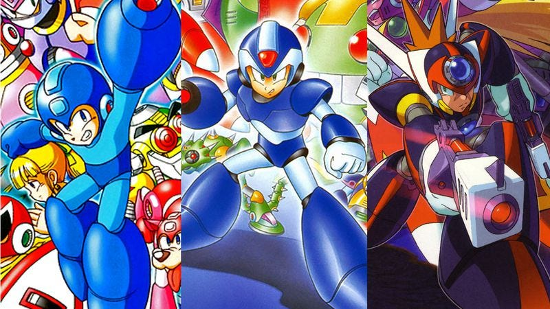 Mega mans flexibility is the series greatest strength and weakness art from mega man 7 mega man x and mega man x7mega man knowledge base voltagebd Images