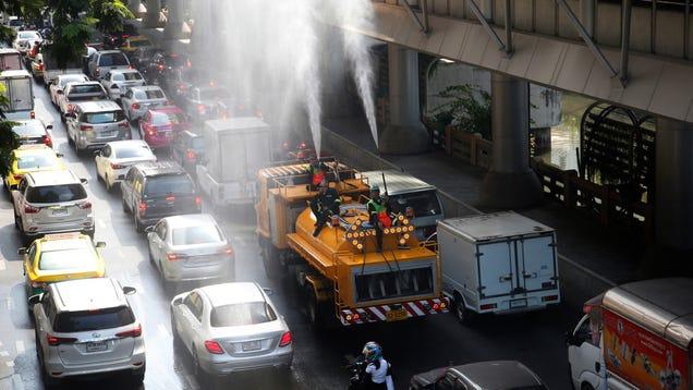 Smog-Choked Bangkok Is Going to Make It Rain