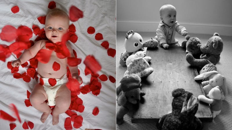 Illustration for article titled Adorable Baby Adorably Recreates Scenes From Classic Movies