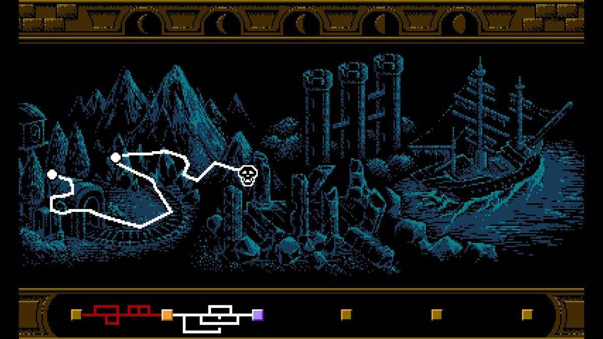 Bloodstained: Curse Of The Moon is a brilliant ode to one of