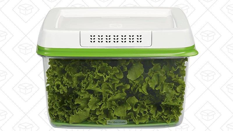 Rubbermaid Large FreshWorks Container, $8