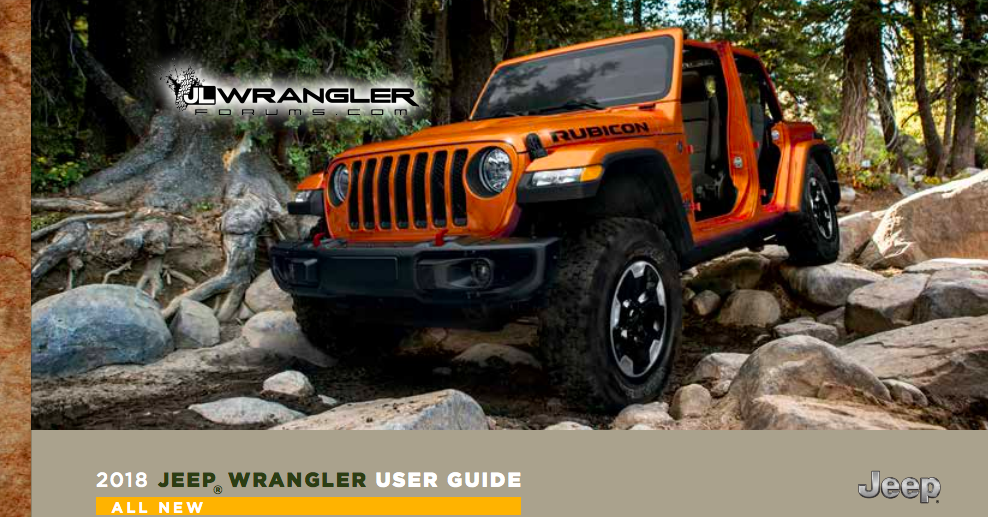 here is the entire leaked owner s manual for the 2018 jeep wrangler rh jalopnik com 2011 jeep wrangler unlimited sport owners manual Jeep Wrangler Unlimited Sahara