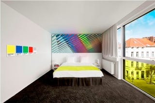 Illustration for article titled Pantone Hotel Opens In Brussels, Limited To Just Seven Color Palettes
