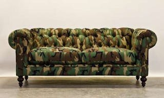 Illustration for article titled Dear God; Camo patterned furniture