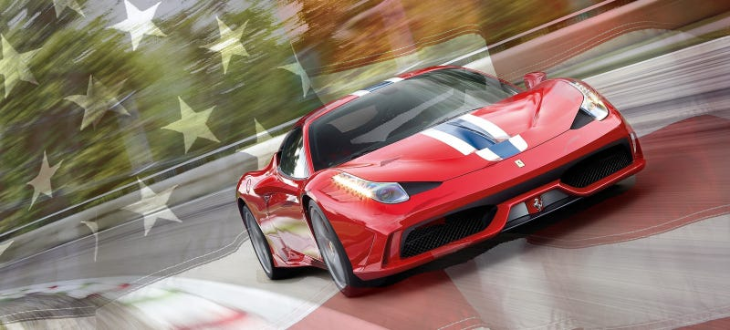 Illustration for article titled Ferrari Is Building 10 Special Edition Cars Just For Us Americans