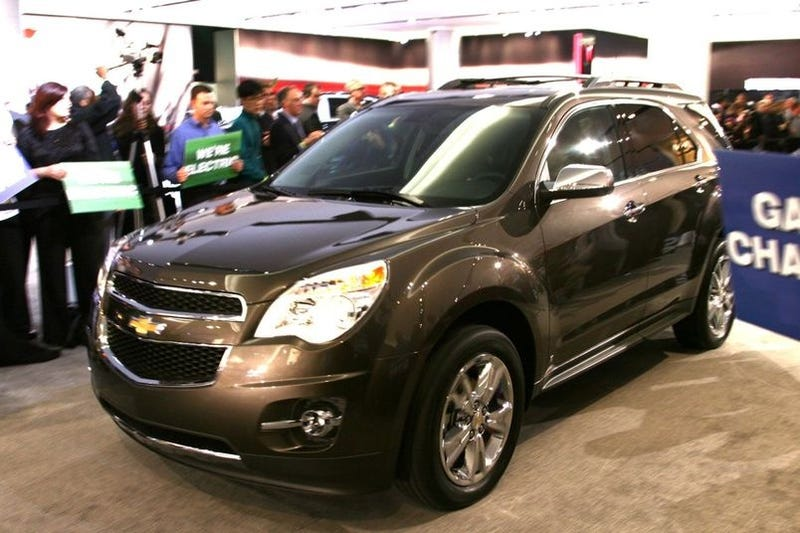 Illustration for article titled 2010 Chevy Equinox: The Tall Malibu Wagon Debuts