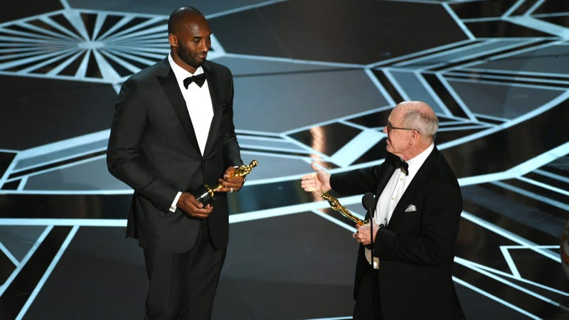 Illustration for article titled Kobe Bryant's Oscar Win Reminds Us That Time Is Not Up For Everyone