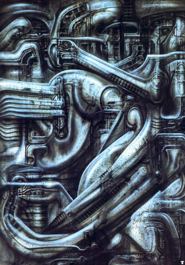 The Most Unforgettable Creations Of H  R  Giger