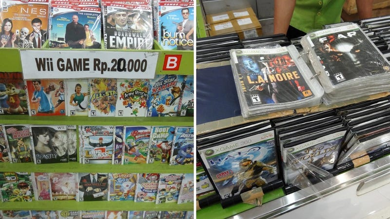 Illustration for article titled In Indonesia, Pirated Games for Two Bucks a Pop