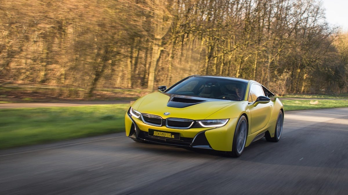 The Bmw I8 Finally Gets A Racy Color