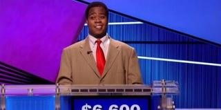 Colby Burnett, winner of Jeopardy's Teachers' Tournament (ABC)