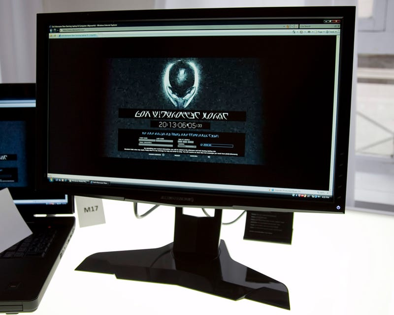 Alienware OptX AW2210 21 5-Inch Gaming Monitor Goes