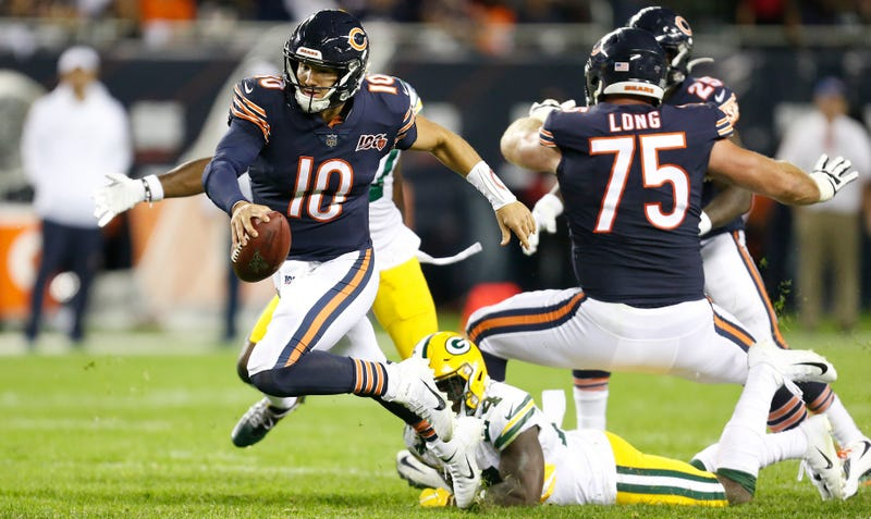 Illustration for article titled Tramon Williams Adds Further Humiliation To Mitchell Trubisky's Rotten Opening Night