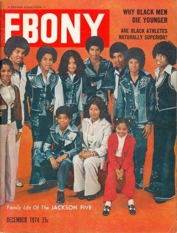 An Ebony magazine cover from December 1974Ebony