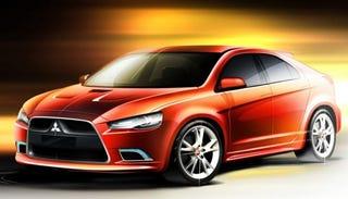 Illustration for article titled Mitsubishi Joining Sportback Crowd: Lancer Prototype S