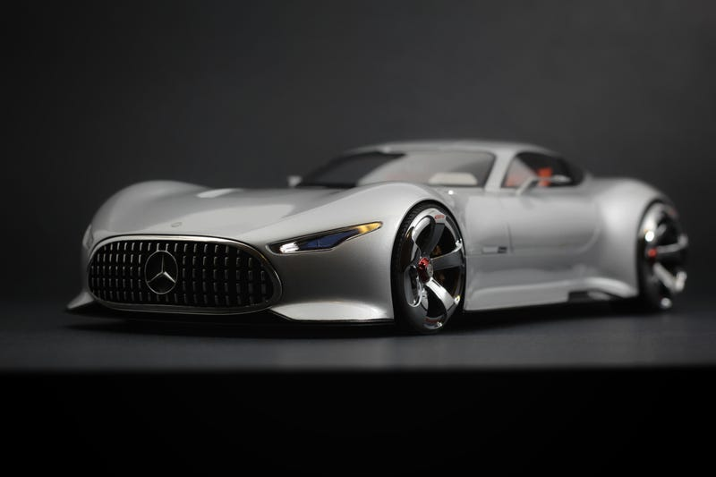 Illustration for article titled Pinnacle Piece: Mercedes-Benz AMG Vision Gran Turismo from Model 777