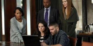 Cast of Scandal (Danny Feld/ABC)