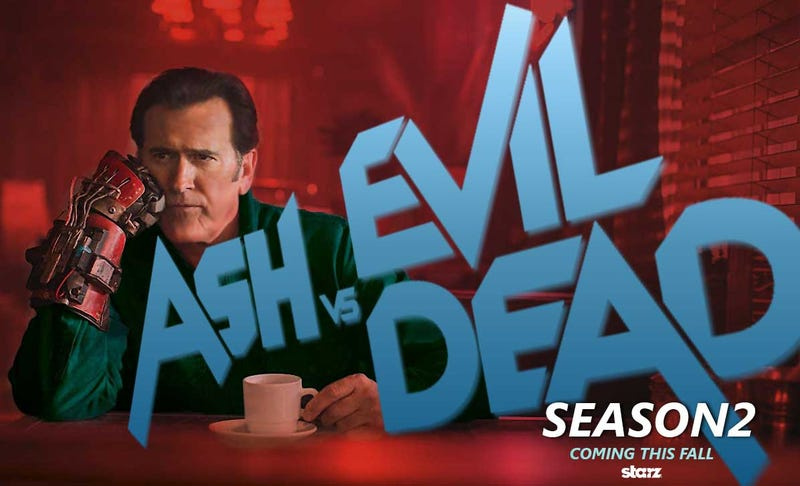 Illustration for article titled Tonight Live, Catch The Season Premier Of Ash Vs The Evil Dead On IGN's Facebook Page At 10PM Eastern.