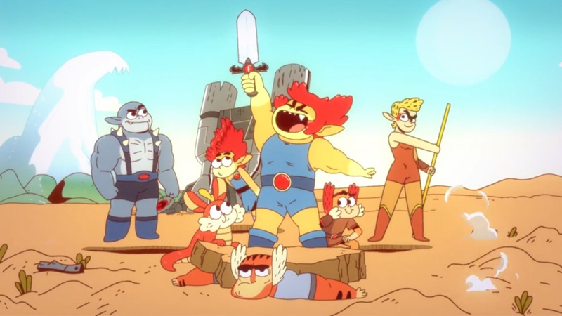 Meet the not-all-that-new, but all-that-different ThunderCats!