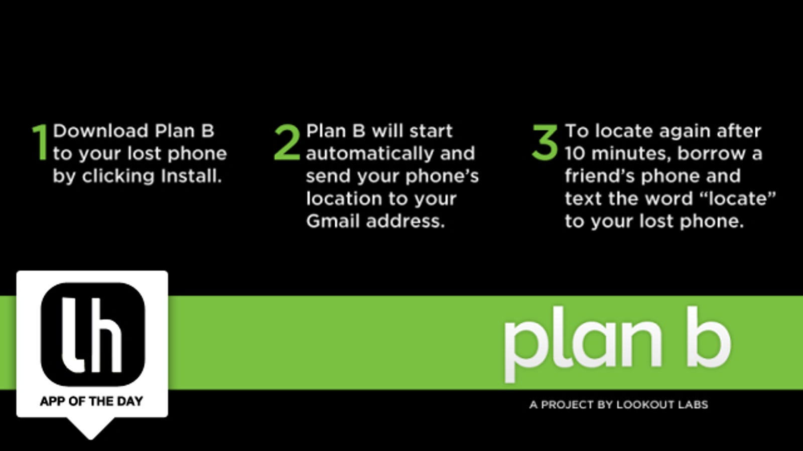 Plan B Locates Your Lost or Stolen Android Phone, Even If You Didn't