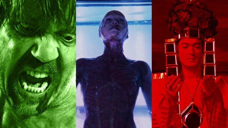 L to R: A Serbian Film, Martyrs, Saló