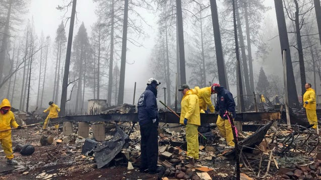 Camp Fire Now Completely Contained, With 85 Confirmed Dead and Hundreds Still Missing