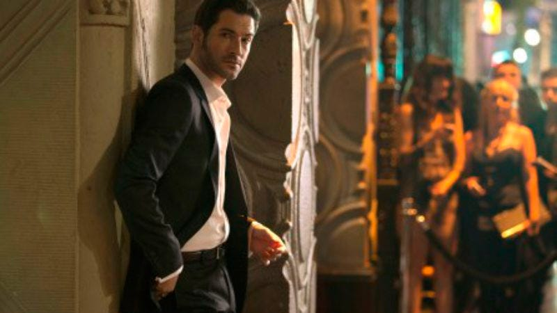 Tom Ellis as Lucifer (Image by: Fox)