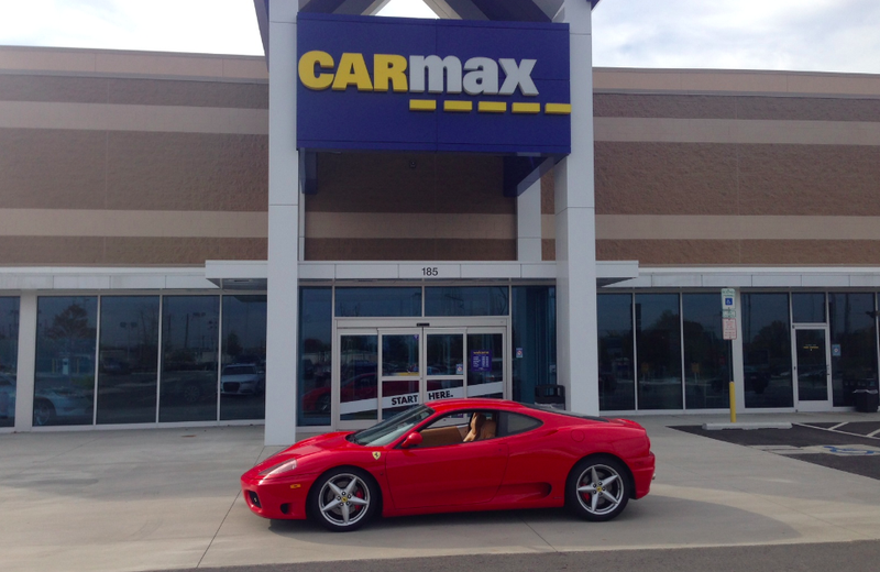 here s what happened when i tried to sell my ferrari to carmax. Black Bedroom Furniture Sets. Home Design Ideas