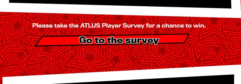 Atlus Survey asks questions on Persona for PC