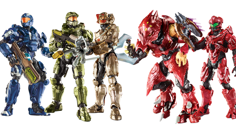 Illustration for article titled Mattel's Doing All The Halo Toys Now, And They Look Killer