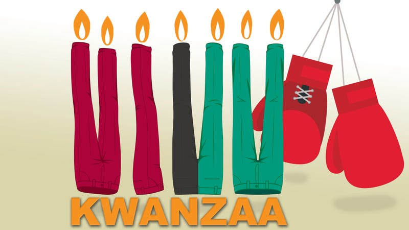 Illustration for article titled Dispatches From The Kwanzaa Kid: The Kwanzaa Pants Fight